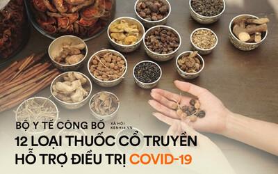 INFOGRAPHIC: 12 loại thuốc cổ truyền hỗ trợ phòng và điều trị Covid-19 được Bộ Y tế công bố