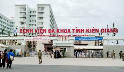 Từ 8h ngày 28/7, dỡ phong tỏa Bệnh viện đa khoa tỉnh Kiên Giang