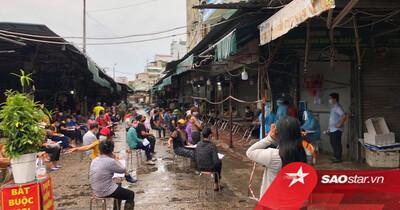 Hà Nội: Tạm dừng hoạt động chợ Phùng Khoang sau khi phát hiện người bán rau dương tính SARS-CoV-2