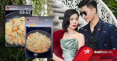 Lâm Bảo Châu đi chợ nấu ăn cho Lệ Quyên giữa mùa dịch: Xứng danh 'phi công trẻ quốc dân'