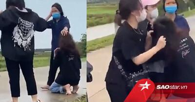 Thiếu nữ bị đánh hội đồng giữa đường, tiếng cổ cũ của nam thanh niên quay clip càng gây phẫn nộ hơn