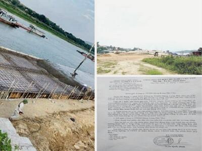 Phú Thọ: Công ty TNHH Hùng Long Phú Thọ cố tình vi phạm pháp luật?