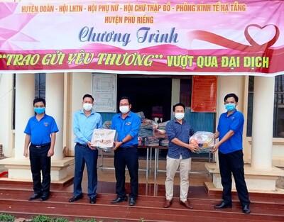 Bình Phước: Thanh niên tỉnh biên giới vận động 9 tỷ đồng từ doanh nghiệp để chống dịch Covid-19