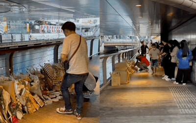 Người Việt đến viếng thanh niên bị xô xuống sông ở Osaka, cảnh tượng ngỡ ngàng làm anh chồng Nhật sốc không nói nên lời