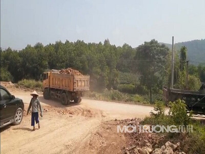 Thái Nguyên: Khai thác đất bừa bãi, làm trái quy định của UBND tỉnh