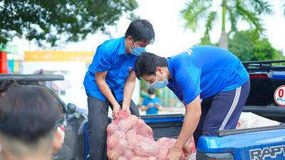 Sài Gòn - Bình Dương mừng đón 113 tấn rau, củ, quả và nhu yếu phẩm từ người Bình Phước