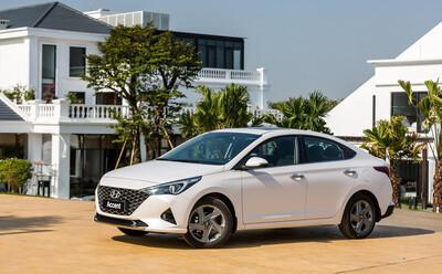 Hyundai Accent 2021 giảm giá đậm tay đầu tháng Ngâu, khiến Toyota Vios 'khóc thét'