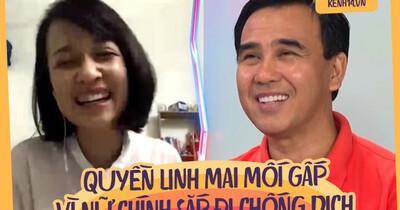"""Cô nhân viên y tế nhờ Quyền Linh mai mối """"gấp"""" trên show hẹn hò vì chuẩn bị đi chống dịch"""