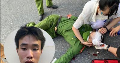 Hà Nội: Cố tình vượt chốt, nam thanh niên điều khiển xe máy tông trúng đại úy Công an