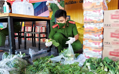 Công an Đà Nẵng mở 30 điểm bán hàng, giá rẻ bất ngờ