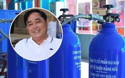 Doanh nhân Huỳnh Uy Dũng: 'Tôi âm thầm đặt hàng 50.000 bình oxy cách đây 3 tháng, tôi chia sẻ hơi thở với đồng bào mình'