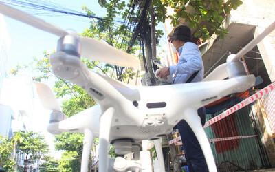 Đà Nẵng bắt đầu dùng flycam, camera di động để giám sát 'ai ở đâu ở yên đó' trong các kiệt, hẻm