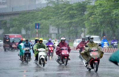 Dự báo thời tiết ngày 31/8: Bắc Bộ có mưa lớn, trời dịu mát