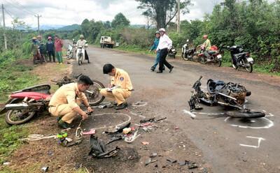 Ngày thứ 2 kỳ nghỉ lễ Quốc khánh tai nạn giao thông giảm 18 vụ so với năm 2020