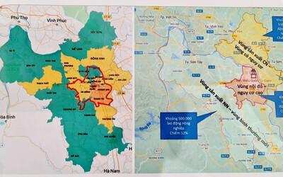 NÓNG: Chi tiết danh sách các 'vùng đỏ' tại Hà Nội tiếp tục giãn cách xã hội theo Chỉ thị 16 đến 6h ngày 21/9
