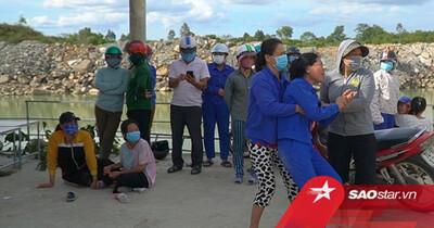 3 học sinh trượt chân xuống hồ nước sâu tử vong thương tâm, người nhà nạn nhân khóc ngất vì mất mát lớn