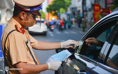 Từ 6h ngày 8/9, Hà Nội xử lý nghiêm các trường hợp không có Giấy đi đường mới