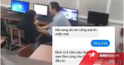 Thầy giáo đã có vợ con bị tố quấy rối nữ sinh, nhắn tin 'gạ' đi chơi riêng rồi liên tục nhắc xóa tin nhắn