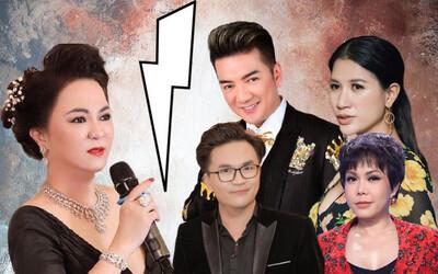 """Bà Phương Hằng tuyên bố dừng livestream sau 6 tháng """"khẩu chiến"""" và loạt nghệ sĩ Vbiz thông báo dừng việc thiện nguyện"""