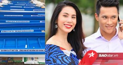 Thực hư việc 10 chiếc thuyền máy cứu trợ lũ lụt để tên riêng của Thủy Tiên và Công Vinh?