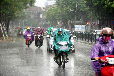 Dự báo thời tiết ngày 14/9: Hà Nội và các tỉnh phía Bắc có mưa dông