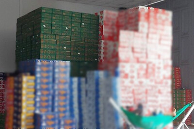An Giang: Phát hiện kho hàng chứa 586 thùng bia Crown không hóa đơn chứng từ