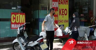 Danh sách 22 quận huyện, thị xã ở Hà Nội được bán hàng ăn, uống mang về từ 12 giờ ngày 16/9