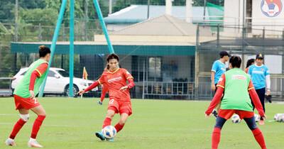 Tuyển nữ Việt Nam công bố danh sách 23 cầu thủ đi thi đấu tại Tajikistan