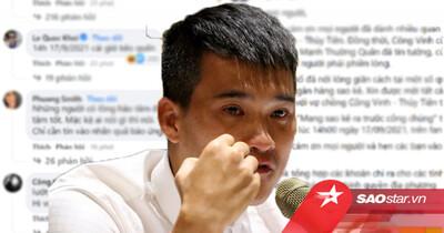 Phản ứng netizen thế nào sau khi Công Vinh 'chốt' thời gian địa điểm sao kê?