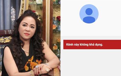 Sau khi bà Phương Hằng tuyên bố 'dừng lại', loạt kênh YouTube hàng chục nghìn lượt theo dõi của Đại Nam đã 'bốc hơi'
