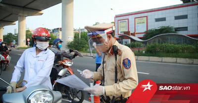 Hà Nội không kiểm tra giấy đi đường tại 19 quận, huyện, thị xã 'bình thường mới'
