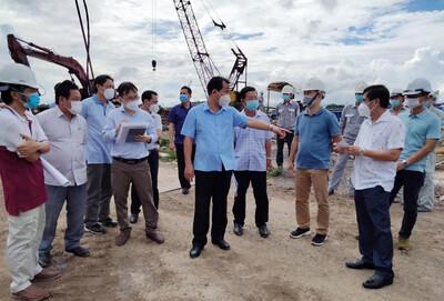 TP Cần Thơ: Bí thư Thành ủy kiểm tra tại 2 dự án trọng điểm