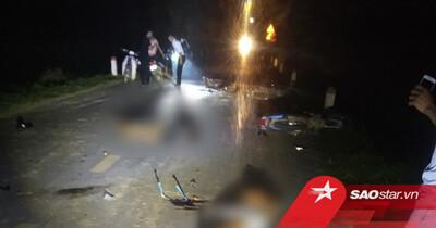 Phú Thọ: 4 xe máy lao vào nhau trong đêm trung thu khiến 5 người tử vong, 2 người nguy kịch
