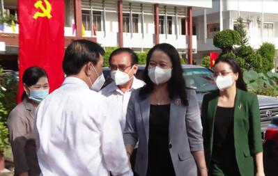 Đoàn công tác Phó Chủ tịch nước Võ Thị Ánh Xuân làm việc với Tiền Giang
