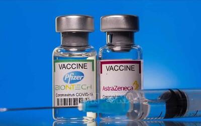 Tiêm kết hợp mũi 1 là vaccine AstraZeneca và mũi 2 là vaccine Pfizer
