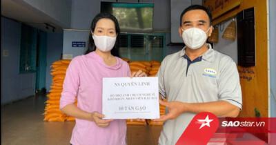 Hết chăm lo cho người dân, MC Quyền Linh tiếp tục giúp đỡ nghệ sĩ nghèo, anh em công nhân sân khấu
