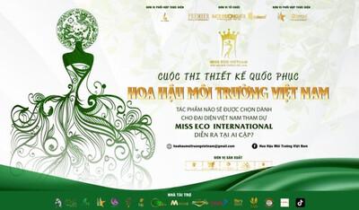 Phát động cuộc thi thiết kế Quốc phục cho Việt Nam tại Miss Eco