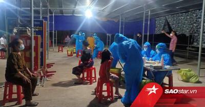 Phát hiện 11 người thân trong một gia đình nhiễm Covid-19 ở Nghệ An