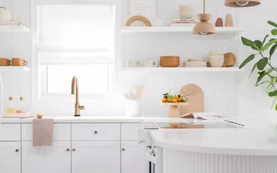Muốn bếp đẹp mà nhiều công năng thì phải biết 9 quy tắc 'kệ mở và tủ đóng' này