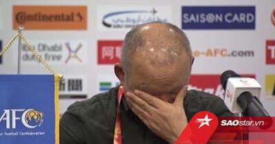Ông Park nói sau trận thua Trung Quốc: Đừng trách cầu thủ vì sai sót, tôi xin nhận trách nhiệm!