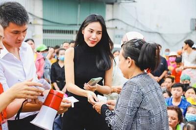 Bộ Công an phối hợp với 7 tỉnh miền Trung xác minh làm rõ số tiền cứu trợ của ca sĩ Thủy Tiên