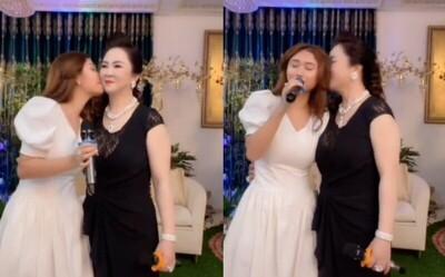 Lộ diện cô gái lạ được bà Phương Hằng thoải mái thể hiện tình cảm và giới thiệu là 'người bí mật'