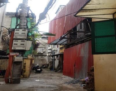 Phường Yên Phụ (Tây Hồ): Hàng loạt công trình xây dựng trên đất nông nghiệp, vi phạm TTXD