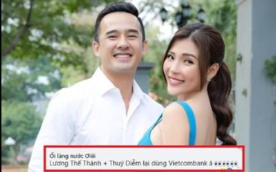 Dân mạng tràn vào 'tấn công' Fanpage Vietcombank sau vụ bà Phương Hằng gọi tên vợ chồng Lương Thế Thành