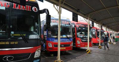 Đã có 15 địa phương đồng ý mở lại vận tải khách liên tỉnh