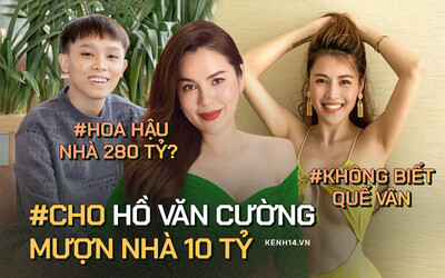 Hoa hậu 'khẩu chiến' với Quế Vân, muốn cho Hồ Văn Cường mượn nhà: 'Tôi vừa đẹp, ở biệt thự 280 tỷ thì cần thêm gì nữa?'