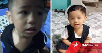 Bố bé trai 2 tuổi ở Bình Dương cung cấp hình ảnh chiếc áo cháu bé mặc ở thời điểm bị mất tích
