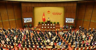 Sáng nay, khai mạc kỳ họp thứ 2, Quốc hội khóa XV