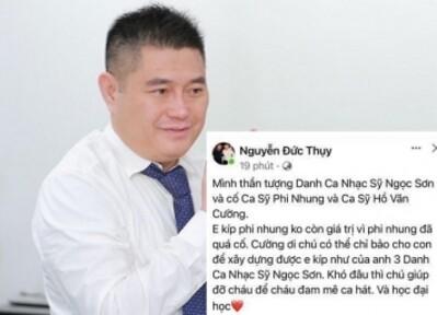 Tranh luận ý kiến sợ bầu Thụy bị 'hack' facebook, vừa mừng vừa lo cho Hồ Văn Cường
