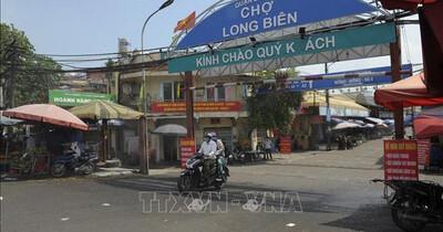 Hà Nội: Chợ Long Biên hoạt động trở lại từ ngày 21/10